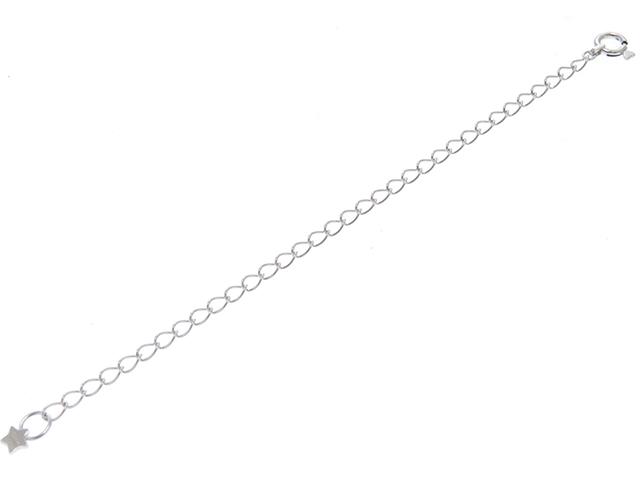Star Jewelry スタージュエリー ネックレス アジャスター ホワイトゴールド(K10WG) 0.6g【430】2141300273287
