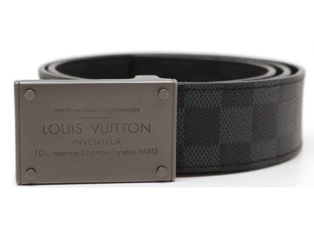 LOUIS VUITTON ルイ・ヴィトン サンチュール・ネオアンヴァントゥール ダミエ グラフィット アンフィニ ベルト M9234V 定価:¥94,600 【200】