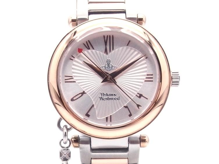 Vivienne Westwood ヴィヴィアン・ウェストウッド 時計 VV006RSSL SS クォーツ式 【432】