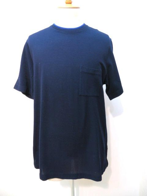 エルメス Tシャツ メンズXL  ネイビー 2148103185236 【200】