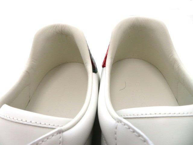 グッチ スニーカー メンズ8ハーフ ホワイト カーフ (2148103379628)【432】 image number 5