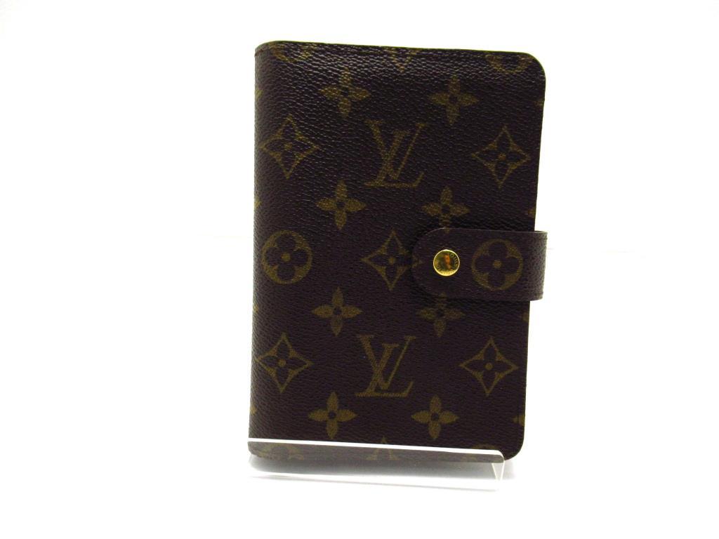 LOUIS VUITTON ルイ・ヴィトン 財布 ポルトパピエ・ジップ M61207 モノグラム【434】